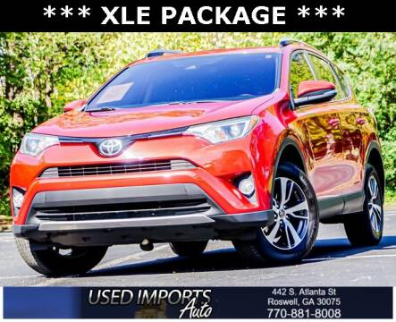 2017 Toyota RAV4 for sale at Used Imports Auto in Roswell GA