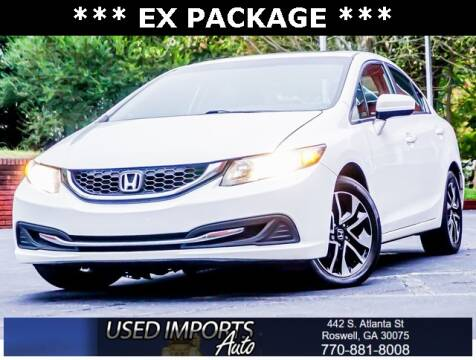 2015 Honda Civic for sale at Used Imports Auto in Roswell GA