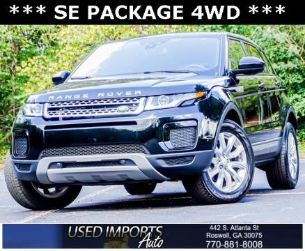2018 Land Rover Range Rover Evoque for sale at Used Imports Auto in Roswell GA
