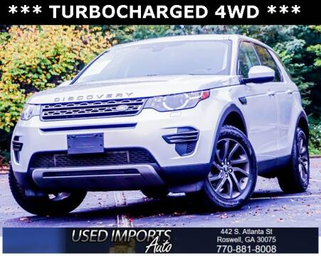 2017 Land Rover Discovery Sport for sale at Used Imports Auto in Roswell GA