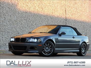 2003 BMW M3 for sale in Carrollton, TX