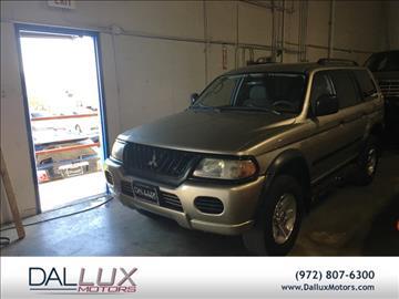 2003 Mitsubishi Montero Sport for sale in Carrollton, TX