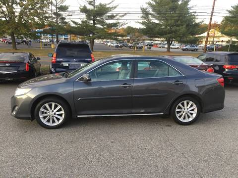 2012 Toyota Camry for sale at Matrone and Son Auto in Tallman NY