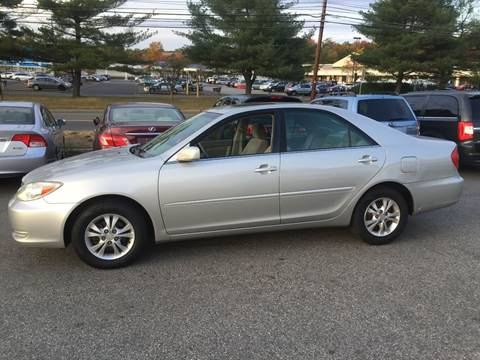 2004 Toyota Camry for sale at Matrone and Son Auto in Tallman NY