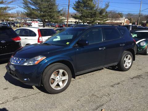 2004 Nissan Murano for sale at Matrone and Son Auto in Tallman NY