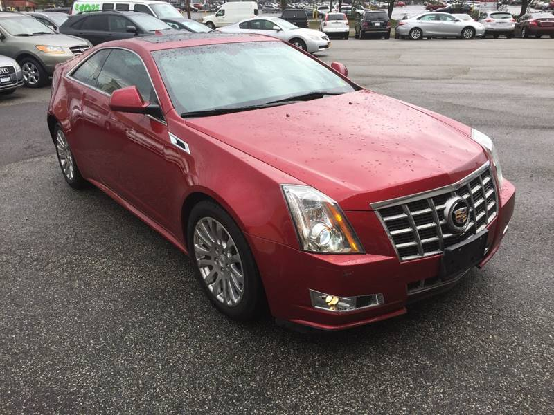 2012 Cadillac Cts Awd 3 6l Premium 2dr Coupe In Tallman Ny Matrone
