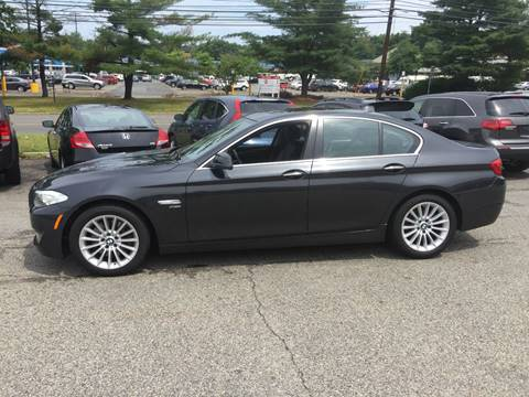 2012 BMW 5 Series for sale at Matrone and Son Auto in Tallman NY