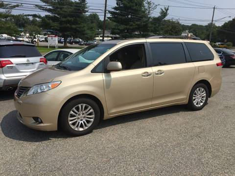 2011 Toyota Sienna for sale at Matrone and Son Auto in Tallman NY