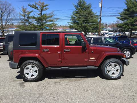 2007 Jeep Wrangler Unlimited for sale at Matrone and Son Auto in Tallman NY