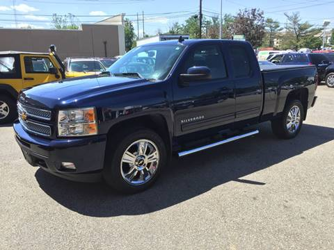 2012 Chevrolet Silverado 1500 for sale at Matrone and Son Auto in Tallman NY