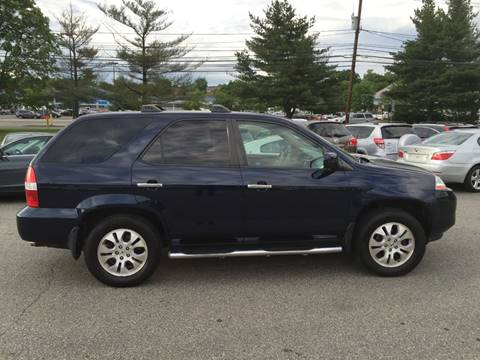 2003 Acura MDX for sale at Matrone and Son Auto in Tallman NY