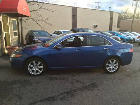 2004 Acura TSX for sale at Matrone and Son Auto in Tallman NY