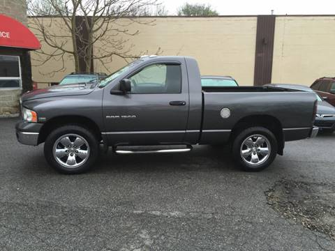 2004 Dodge Ram Pickup 1500 for sale at Matrone and Son Auto in Tallman NY