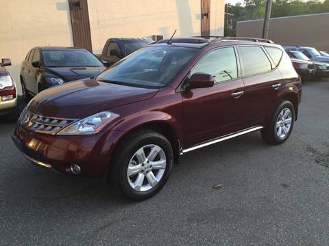 2007 Nissan Murano for sale at Matrone and Son Auto in Tallman NY
