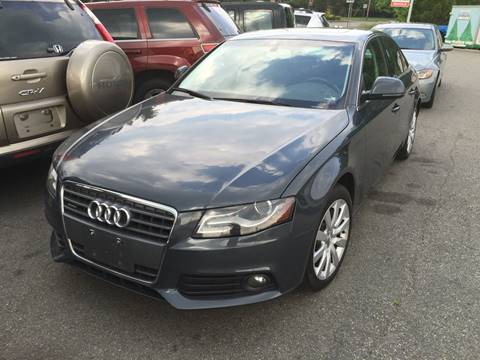 2009 Audi A4 for sale at Matrone and Son Auto in Tallman NY