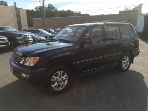2003 Lexus LX 470 for sale at Matrone and Son Auto in Tallman NY