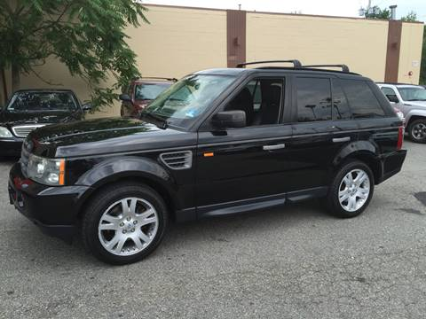 2006 Land Rover Range Rover Sport for sale at Matrone and Son Auto in Tallman NY