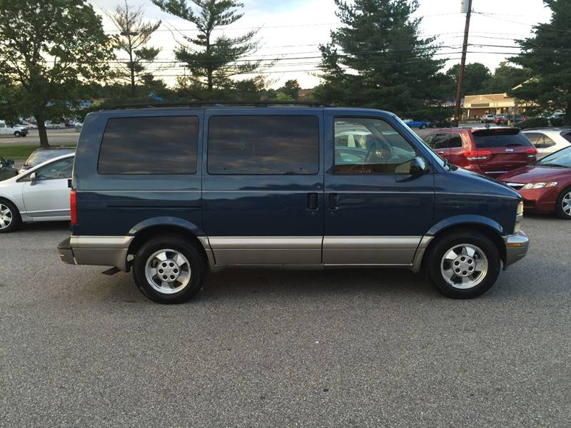 2003 Chevrolet Astro for sale at Matrone and Son Auto in Tallman NY