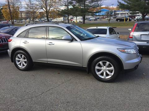 2003 Infiniti FX35 for sale at Matrone and Son Auto in Tallman NY