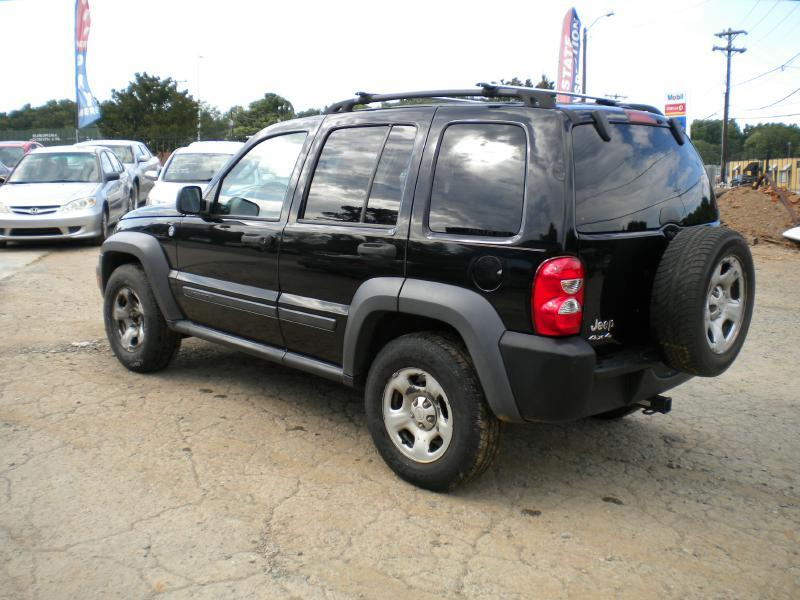 2006 Jeep Liberty Sport 4dr SUV 4WD w/ Front Side Curtain Airbags - Greensboro NC