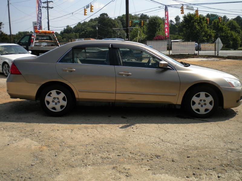 2006 Honda Accord LX 4dr Sedan 5A - Greensboro NC