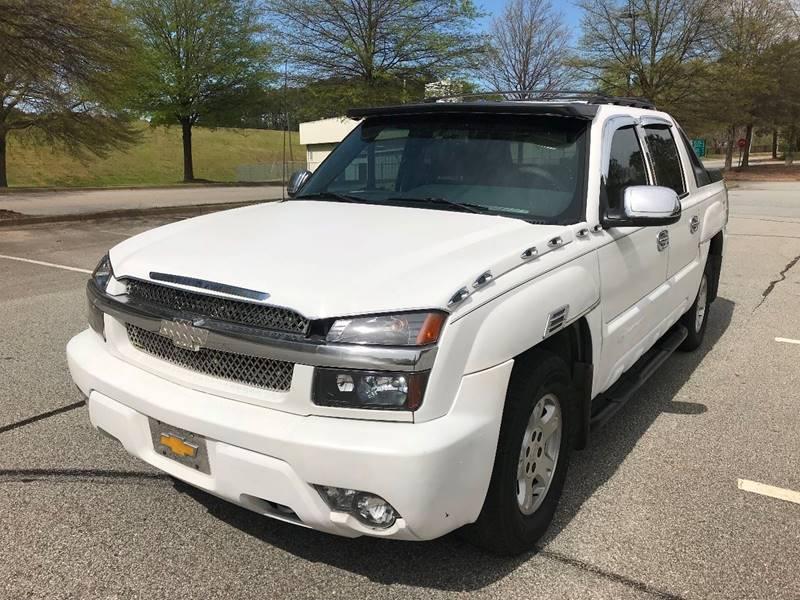 2002 Chevrolet Avalanche for sale at Allrich Auto in Atlanta GA