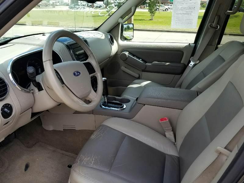 2007 Ford Explorer XLT 4dr SUV V6 - Orange TX