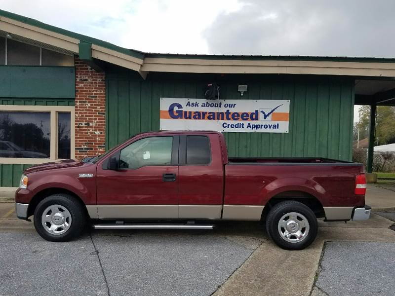 2006 Ford F-150 XLT 4dr SuperCab Styleside 5.5 ft. SB - Orange TX