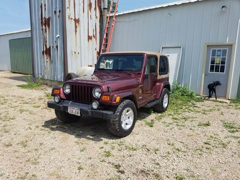 2002 Jeep Wrangler for sale at Craig Auto Sales in Omro WI