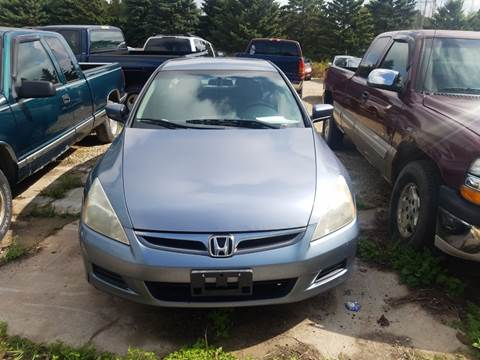 2007 Honda Accord for sale in Omro, WI