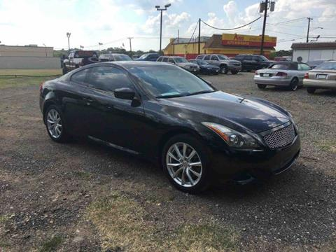 2011 Infiniti G37 Coupe for sale in Haltom City, TX
