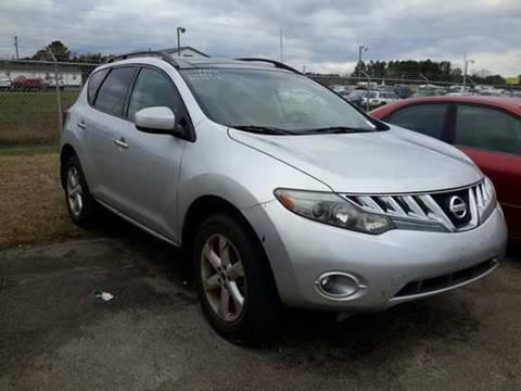 2009 Nissan Murano for sale in Johnsonville, SC