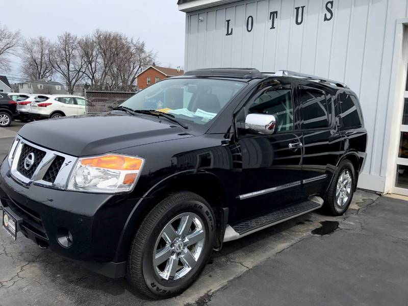 Exceptional 2011 Nissan Armada 4x4 Platinum 4dr SUV   Amherst NY