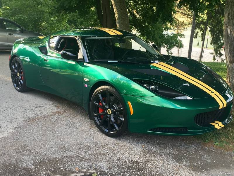 2012 Lotus Evora S 2dr Coupe In Amherst Ny Lotus Of Western New York
