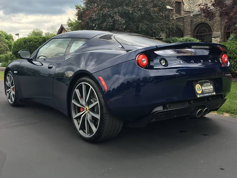 2014 Lotus Evora IPS-NEW-Full Warranty-Nightfall Blue Metallic - Amherst NY