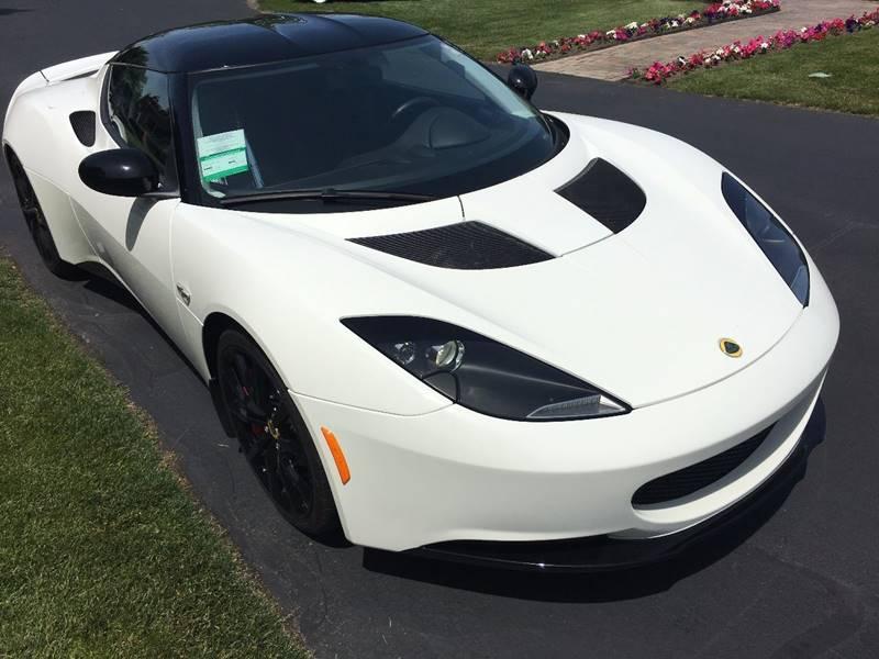 2014 Lotus Evora Aspen White Metallic - Amherst NY