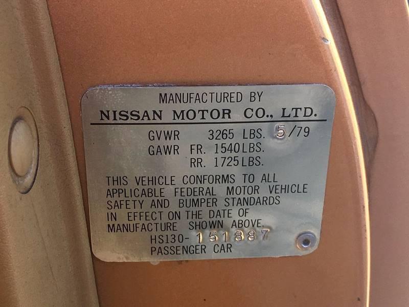 1979 Datsun 280ZX Original 40,000 mile One Owner Survivor! - Amherst NY
