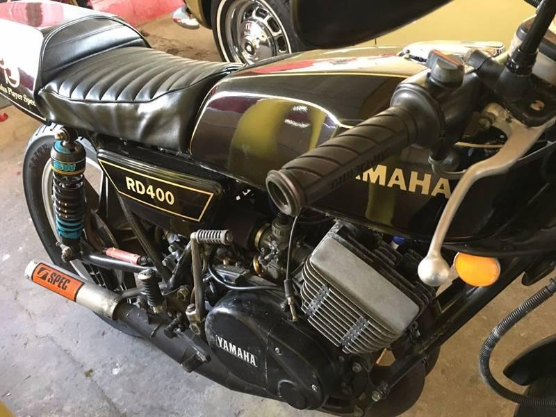 1977 Yamaha RD 400D -John Player Special - Amherst NY