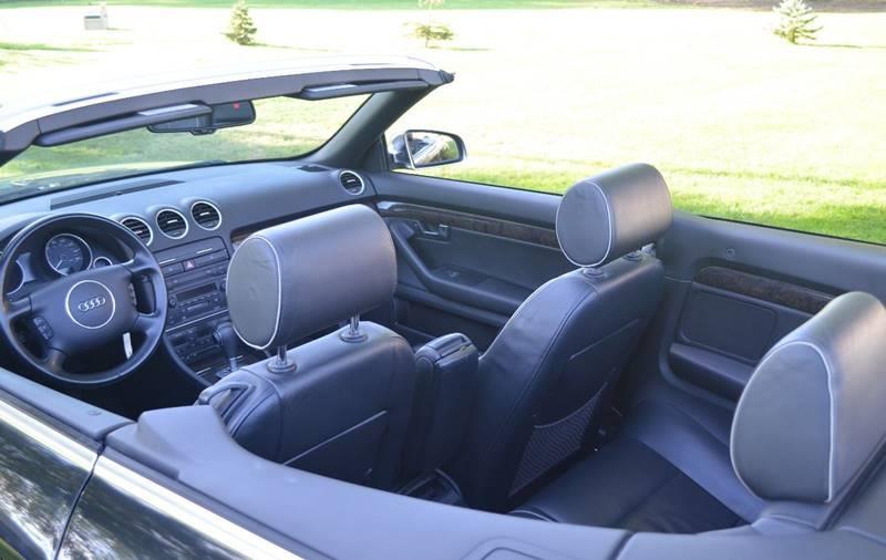 2004 Audi S4 Quattro Cabriolet 4.2 V8- All Wheel Drive! - Amherst NY