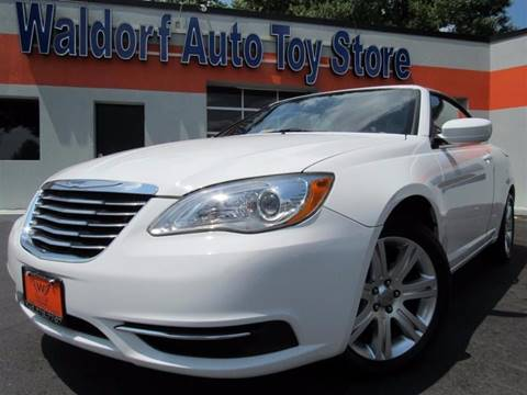 2011 Chrysler 200 Convertible for sale in Waldorf, MD
