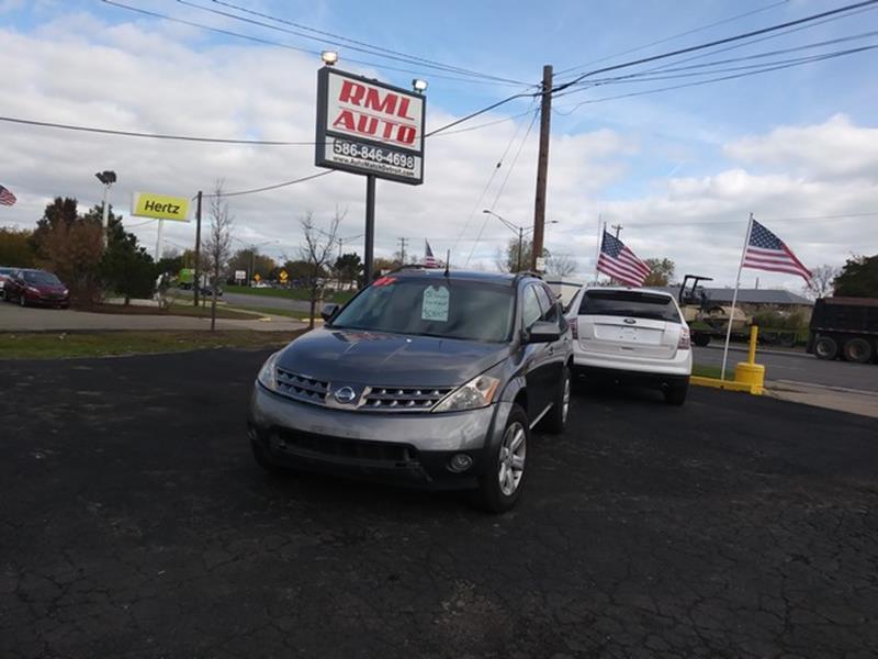 2007 Nissan Murano AWD SL 4dr SUV - Clinton Township MI