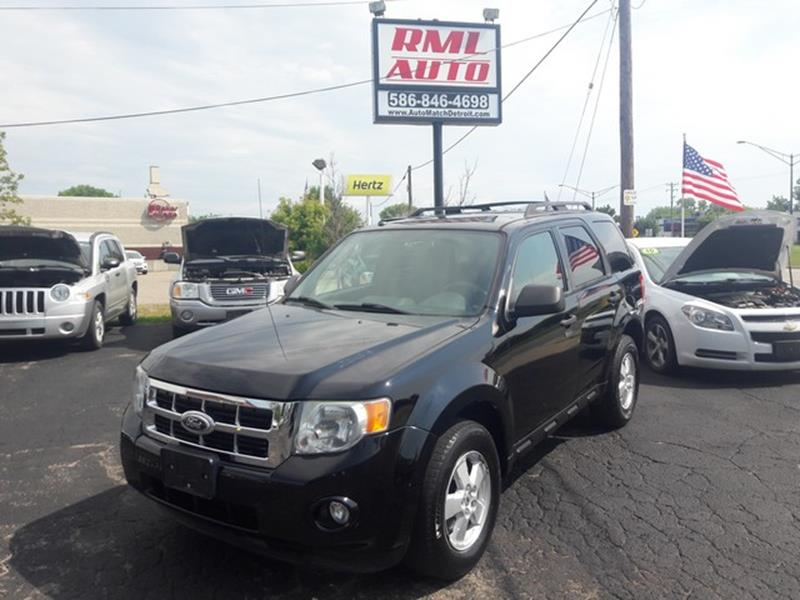 2010 Ford Escape AWD XLT 4dr SUV - Clinton Township MI
