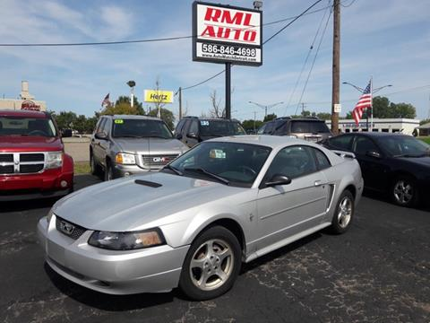 2003 Ford Mustang for sale in Clinton Township, MI