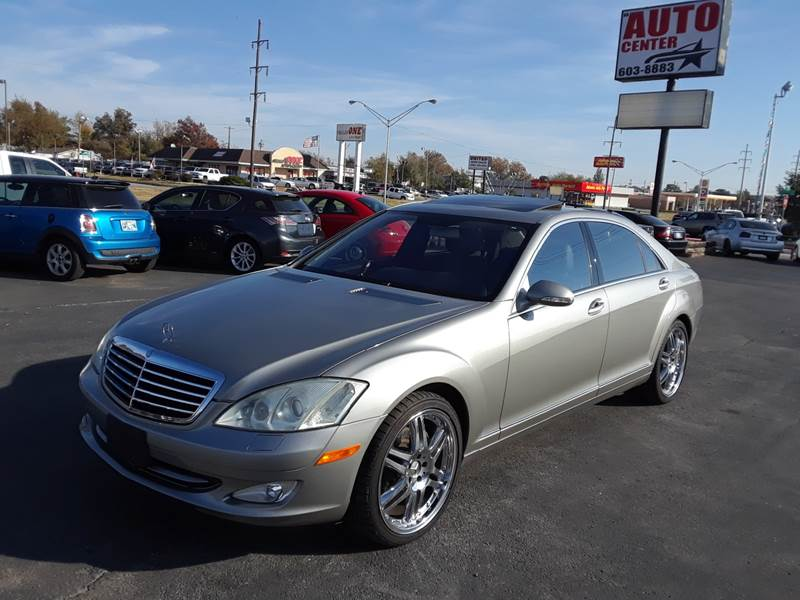 2007 Mercedes Benz S Class S 550 4dr Sedan   Oklahoma City OK