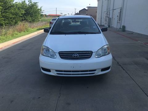 2004 Toyota Corolla for sale at Executive Auto Sales DFW in Arlington TX