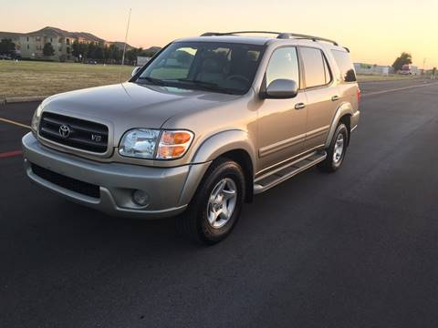 2002 Toyota Sequoia for sale at Executive Auto Sales DFW in Arlington TX