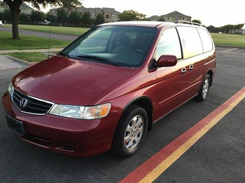 2002 Honda Odyssey for sale at Executive Auto Sales DFW in Arlington TX