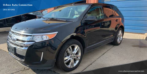 2012 Ford Edge SEL for sale at Urban Auto Connection in Richmond VA