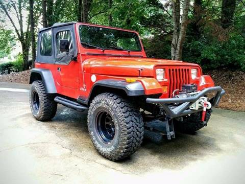 1995 Jeep Wrangler for sale in Alpharetta, GA