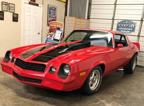 1978 Chevrolet Camaro for sale at Muscle Car Jr. in Alpharetta GA